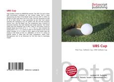 Bookcover of UBS Cup