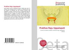 Buchcover von Prabhas Raju Uppalapati