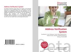 Bookcover of Address Verification System
