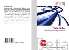 Prakash Jha kitap kapağı