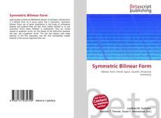 Copertina di Symmetric Bilinear Form