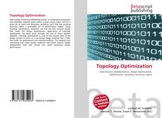 Bookcover of Topology Optimization