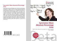 Bookcover of Symmetric Mean Absolute Percentage Error