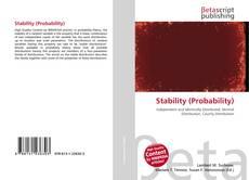 Couverture de Stability (Probability)