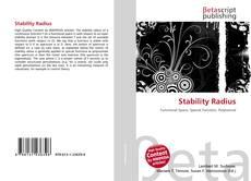 Couverture de Stability Radius