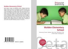 Bookcover of Walden Elementary School