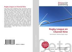 Capa do livro de Rugby League on Channel Nine
