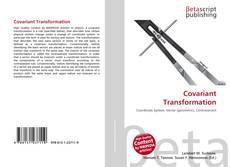 Capa do livro de Covariant Transformation