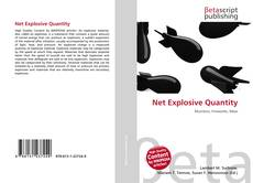 Bookcover of Net Explosive Quantity