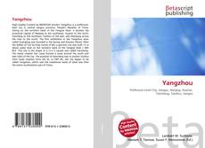 Bookcover of Yangzhou