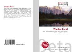 Capa do livro de Walden Pond