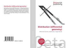 Bookcover of Distribution (differential geometry)