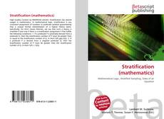 Bookcover of Stratification (mathematics)