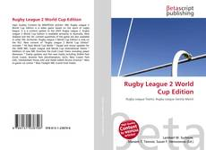 Bookcover of Rugby League 2 World Cup Edition