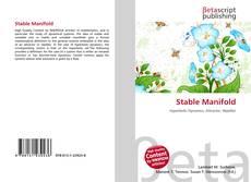 Stable Manifold kitap kapağı