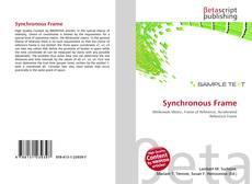 Borítókép a  Synchronous Frame - hoz