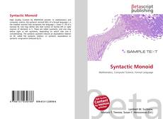 Bookcover of Syntactic Monoid