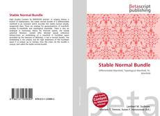 Bookcover of Stable Normal Bundle
