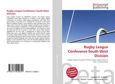 Bookcover of Rugby League Conference South West Division