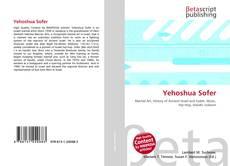 Capa do livro de Yehoshua Sofer