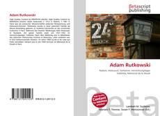 Bookcover of Adam Rutkowski