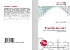 Borítókép a  Synthetic Geometry - hoz