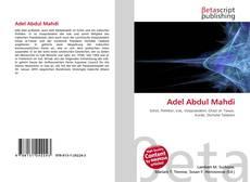 Adel Abdul Mahdi kitap kapağı