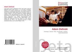 Bookcover of Adam Zielinski