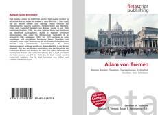 Bookcover of Adam von Bremen