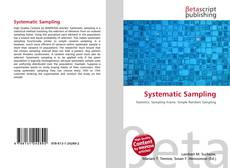 Bookcover of Systematic Sampling