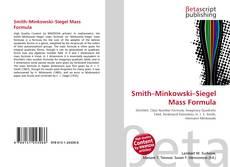 Copertina di Smith–Minkowski–Siegel Mass Formula