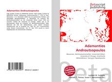 Bookcover of Adamantios Androutsopoulos