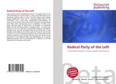 Bookcover of Radical Party of the Left
