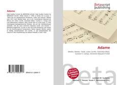 Bookcover of Adame