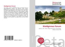 Bookcover of Waldgirmes Forum