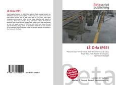 Bookcover of LÉ Orla (P41)