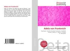 Buchcover von Adela von Frankreich