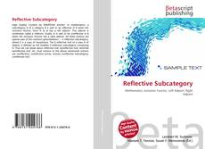 Bookcover of Reflective Subcategory