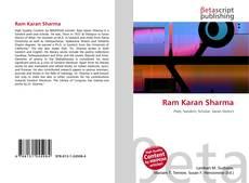 Bookcover of Ram Karan Sharma