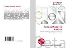 Bookcover of Principal Geodesic Analysis