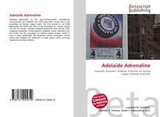 Обложка Adelaide Adrenaline
