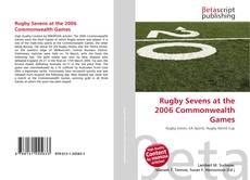 Buchcover von Rugby Sevens at the 2006 Commonwealth Games