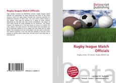 Borítókép a  Rugby league Match Officials - hoz