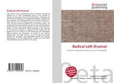 Bookcover of Radical Left (France)