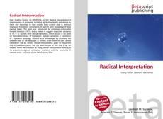 Radical Interpretation的封面