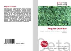 Bookcover of Regular Grammar