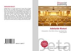 Buchcover von Adelaide Ristori