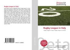 Capa do livro de Rugby League in Italy
