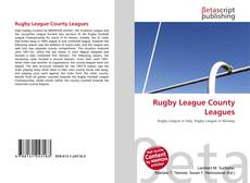 Bookcover of Rugby League County Leagues