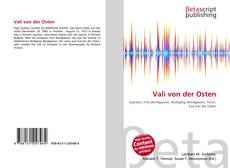 Buchcover von Vali von der Osten